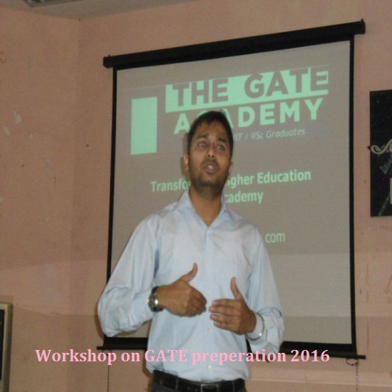 GATE Preperation Workshop