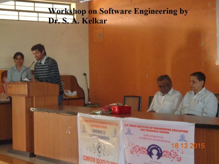 1_Dec15 workshop on Software Engineering
