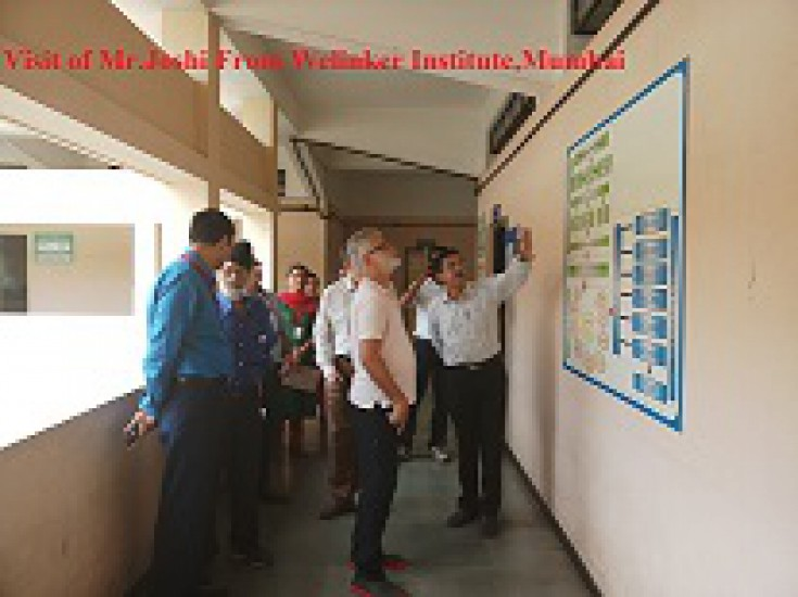 Visit of Mr.Joshi From Welinkar Institute Mumbai