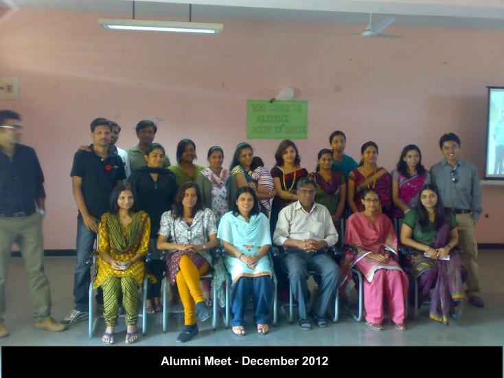 Alumni Meet Dec 2012