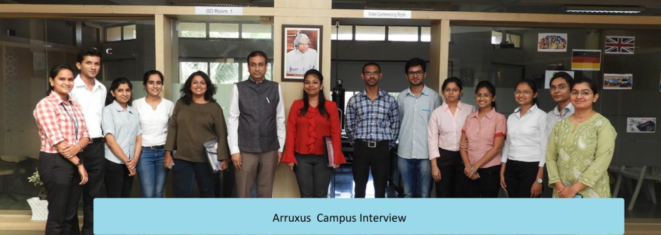 Arruxus  Campus Interview