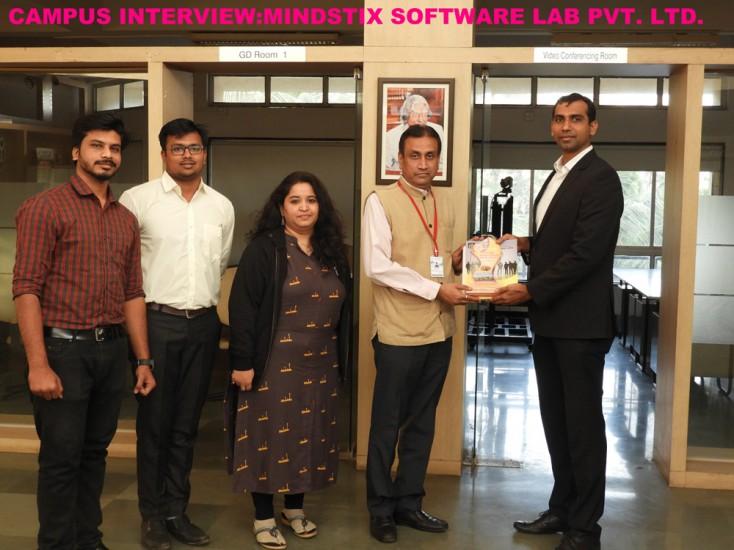 Campus interview by Mindstix Software Lab Pvt Ltd