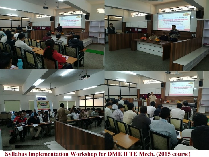 Syllabus implementation workshop DME II