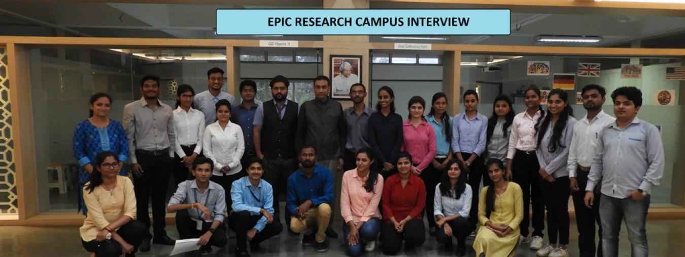 EPIC Reserach-Campus Interview