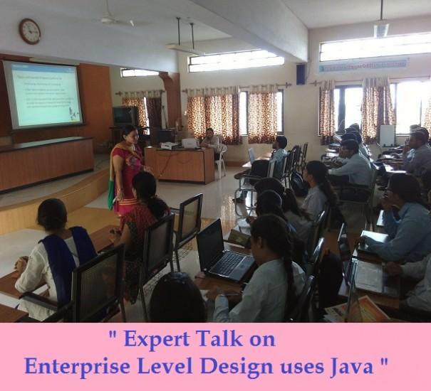 Expert Talk on Enterprise Level Design uses Java