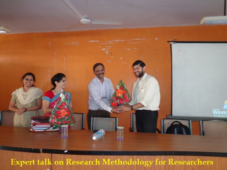 Expert talk on Research Methodology for researchers