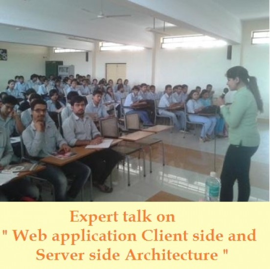 Expert talk on Web application Client side and Server side Architecture