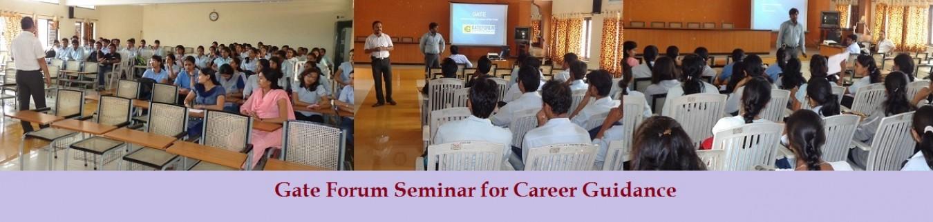 Gate Forum Seminar for Career Guidance