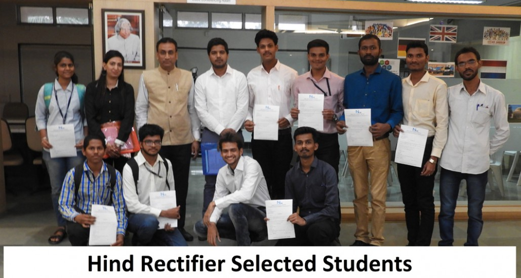 Hind Rectifier Selected Students