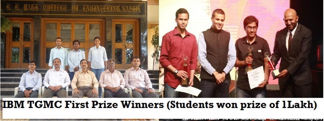 IBM TGMC winners