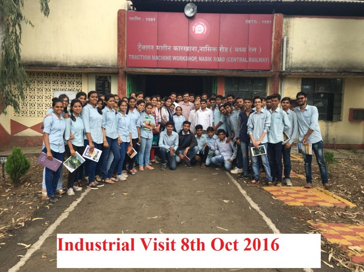 Industrial visit traction nashik road