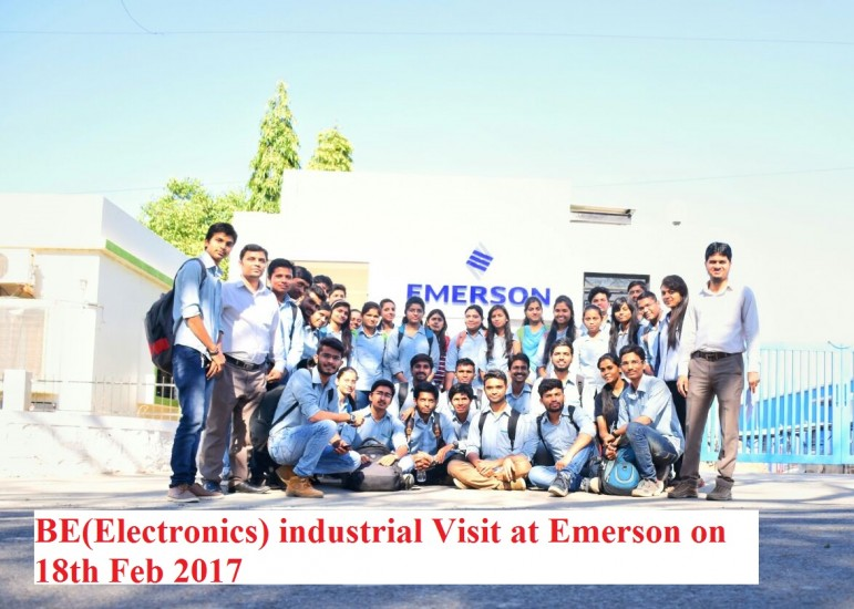 Industrial Visit to Emerson Nashik