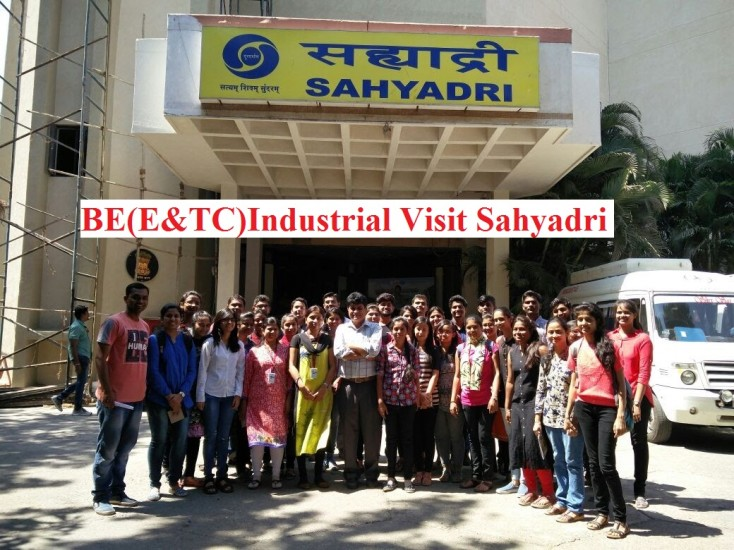 Industrial Visit to Sahyadri Mumbai BE E&TC