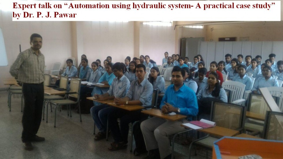 Expert talk on automation by hydraulic