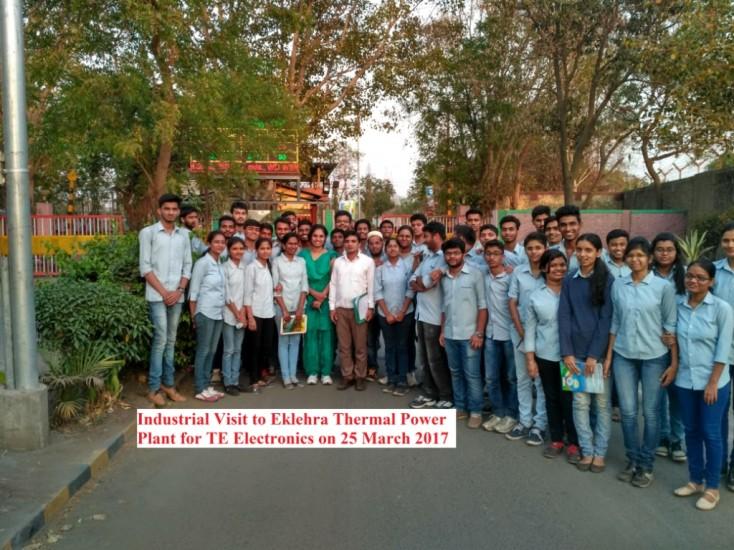 Industrial Visit to Eklehra Nashik TE Electronics