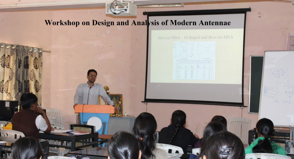 Workshop on Design and analysis of modern antennae 4