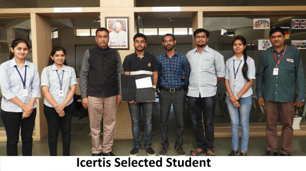 Icertis Selected Student