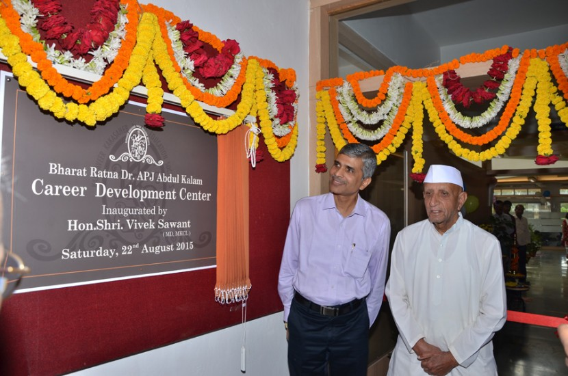 Inauguration of Dr. A P J Abdul Kalam Career Developement Center