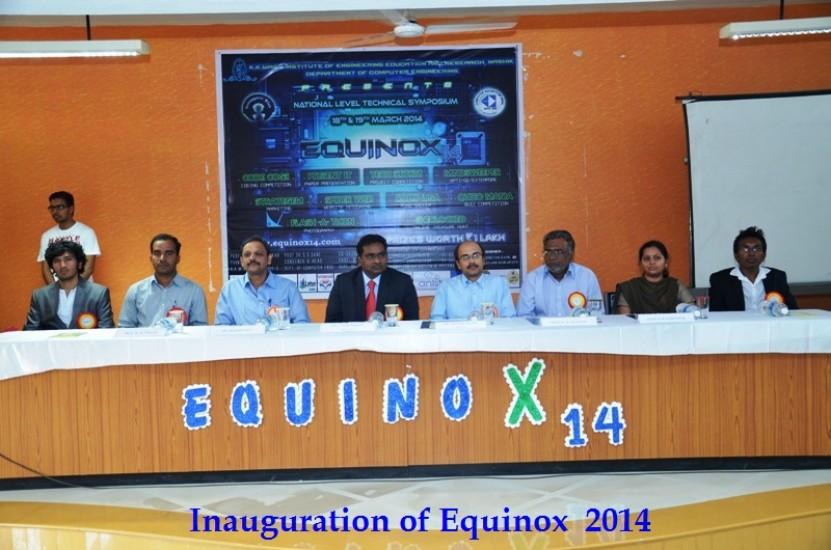 Inauguration of Equinox  2014