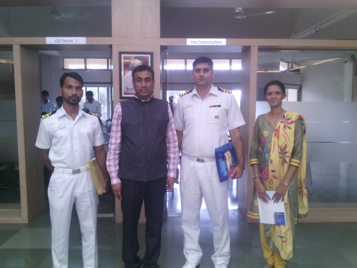 Indian Campus Interview at K K Wagh