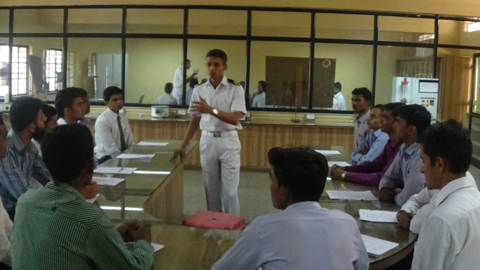Indian Navy Campus Interview
