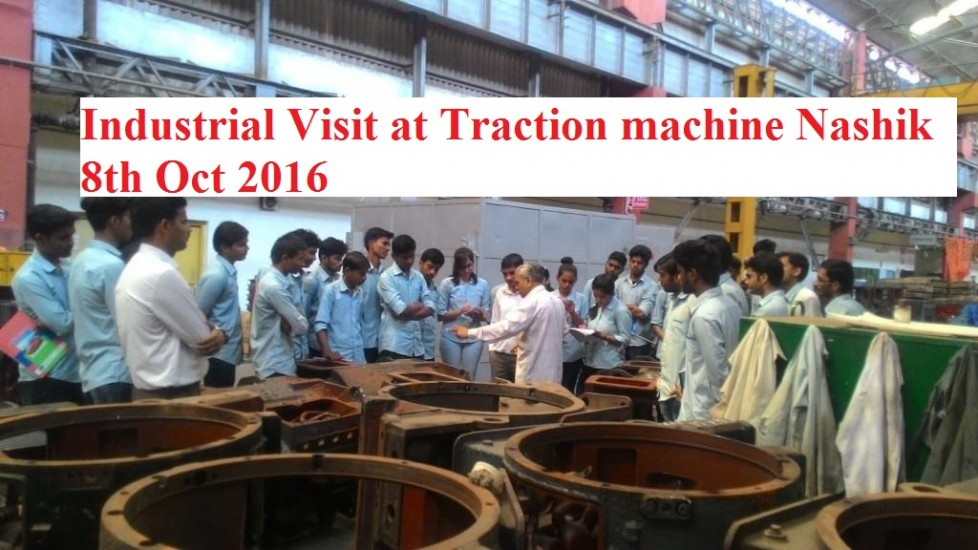 Industrial visit traction nashik road 1