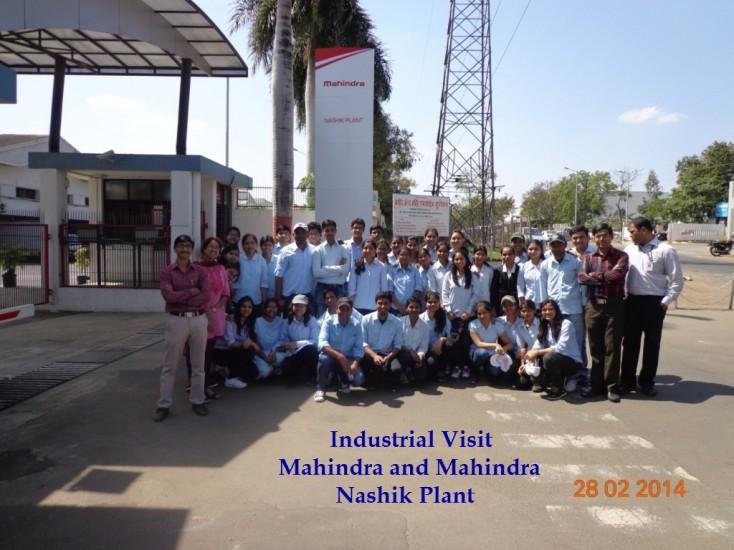 Industrial Visit Mahindra and Mahindra , Nashik Plant