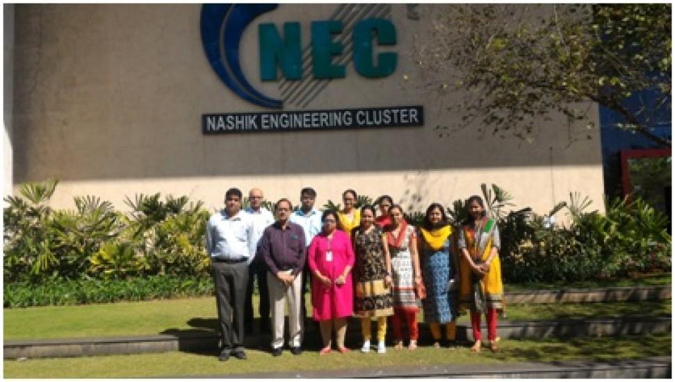 Industrial Visit at NEC 2016-2017