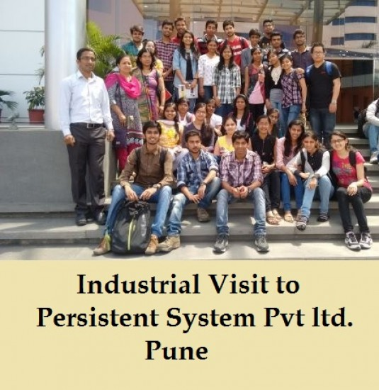 Industrial Visit to Persistent System Pvt ltd.Pune