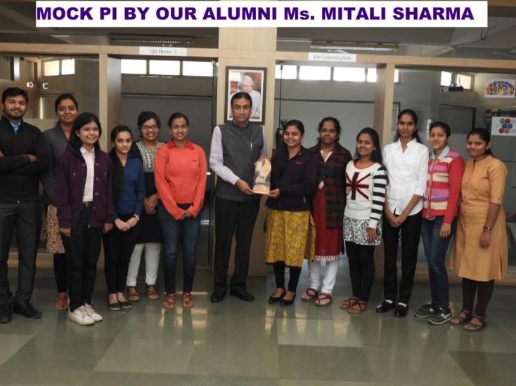 MOCK PI by our Alumni Ms Mitali Sharma
