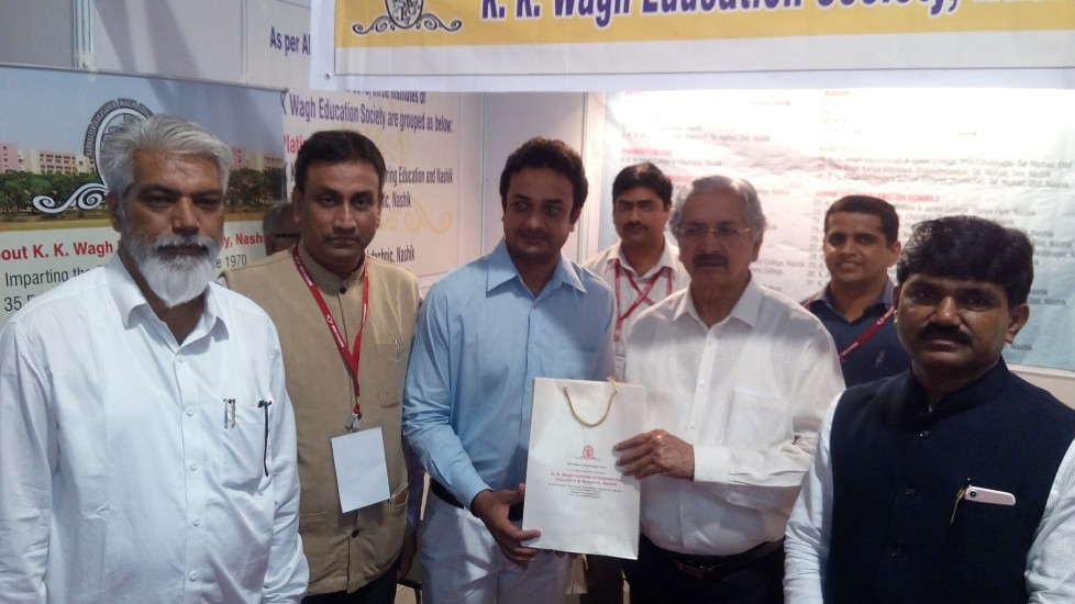 Make in Nashik Exhibition in Mumbai- Partipation by K K Wagh