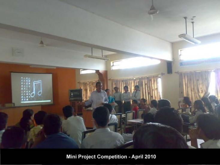 Mini Project Competition Apr. 2010