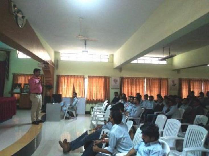 Guest Lecture by Mr. Shyamshankar Singh