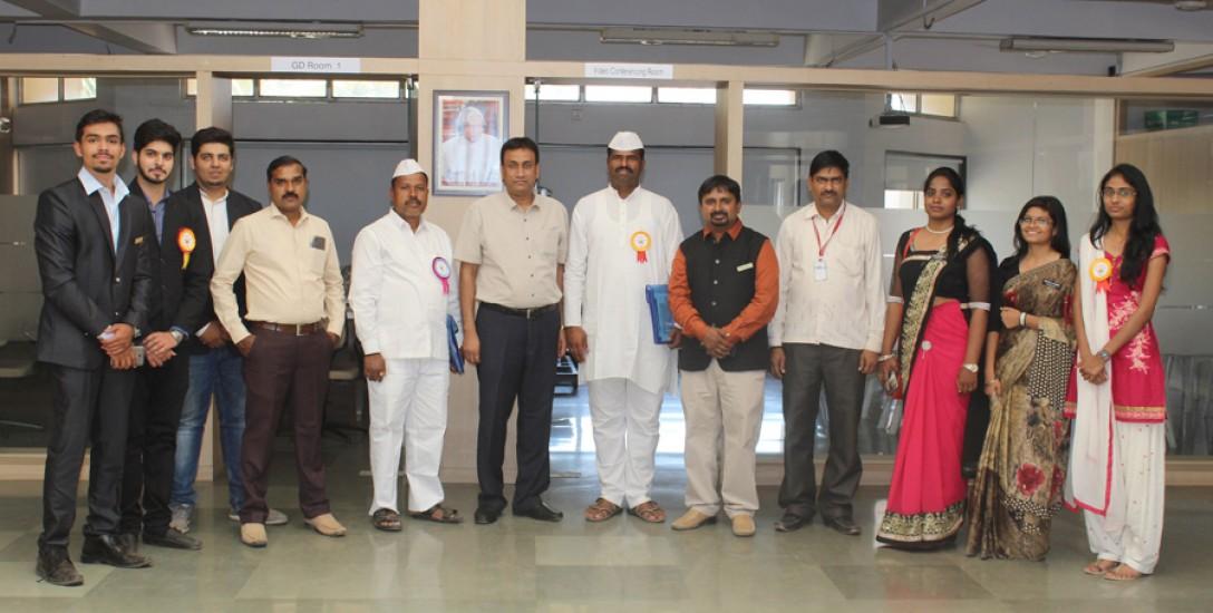 Mumbai Dabbavala Visit to T&P Cell