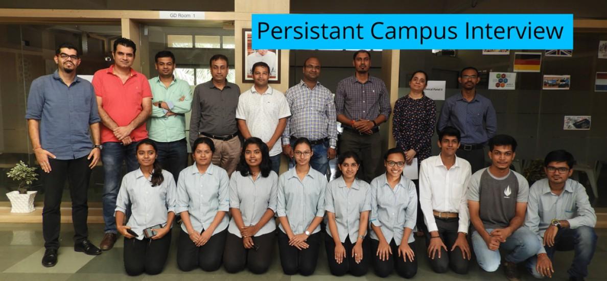 Persistant Campus Interview