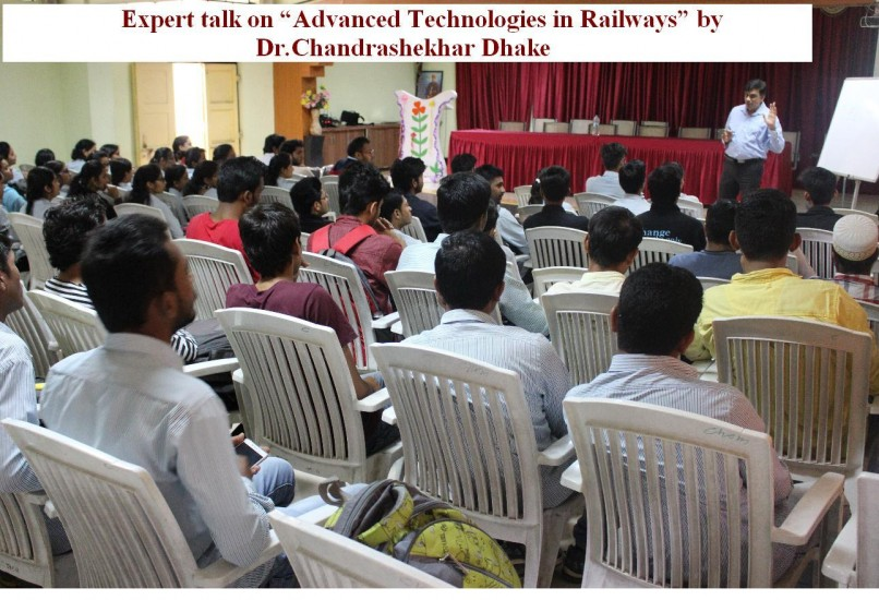Expert talk on advance technologies in Railways