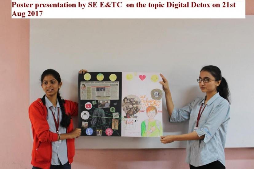 Poster presentation by SE E&TC