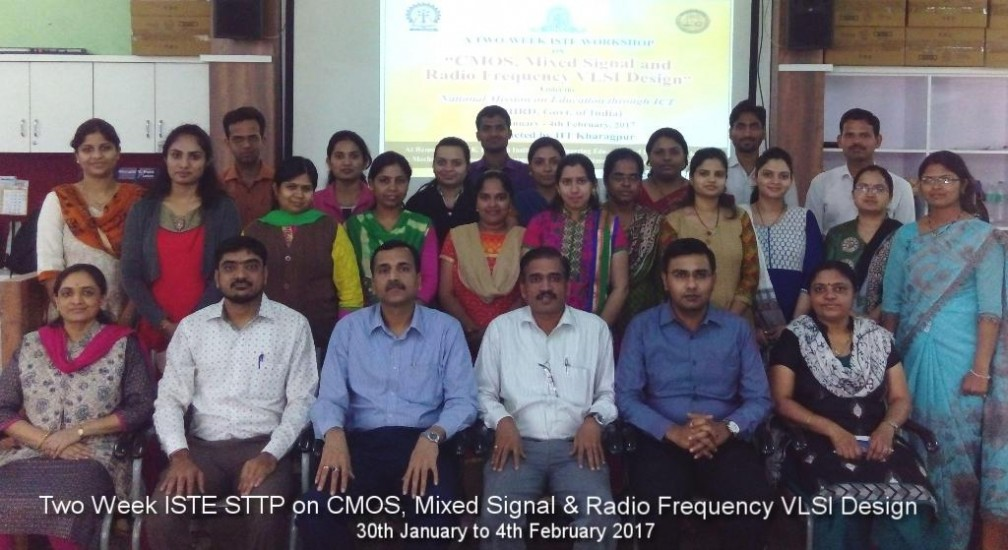 ISTE STTP on CMOS Mixed Signal and Radio Frequency VLSI Design