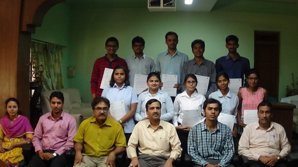Selected Students of Crompton Greaves
