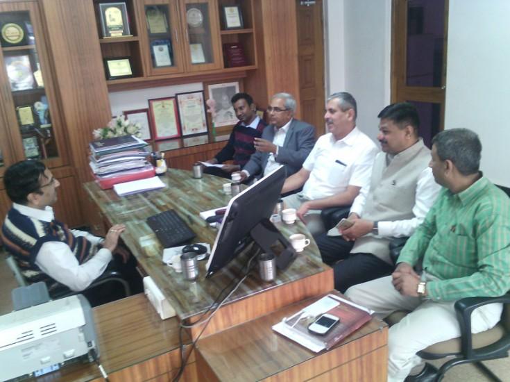 Speakers of EDP in Principal Office