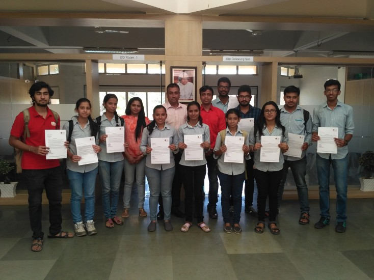 Students Selected in CMS-Kalyan