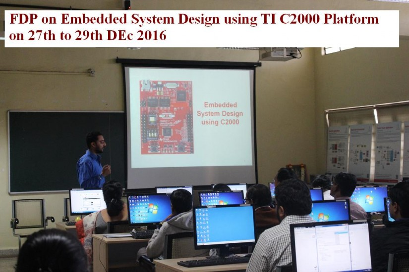 Embedded system design using TI C2000