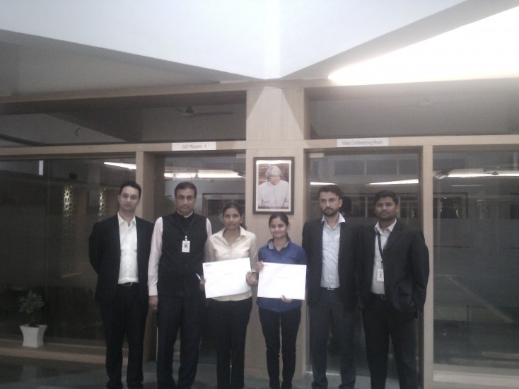 Two students Selected  in Bombardier Transportation with a Package of 7.5 lacs per year