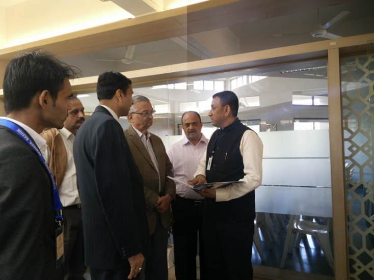 Visit of Dr Anil Kakodkar to Dr A P J Abdul Kalam Career Developement Center