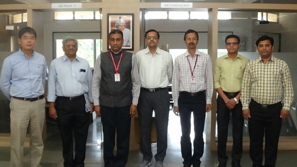 Visit of Emmerson  Copmany Officials to K K Wagh to for exploring the area s of Intercation