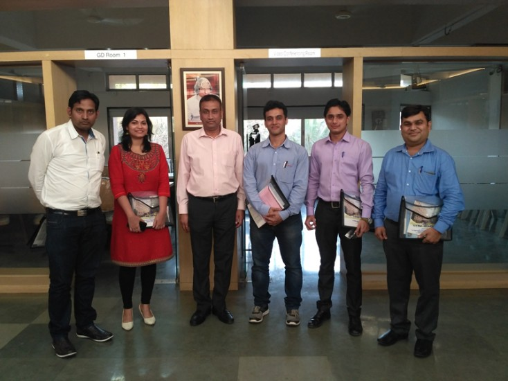 Visit of Portscap Campus Hiring Team to K K Wagh