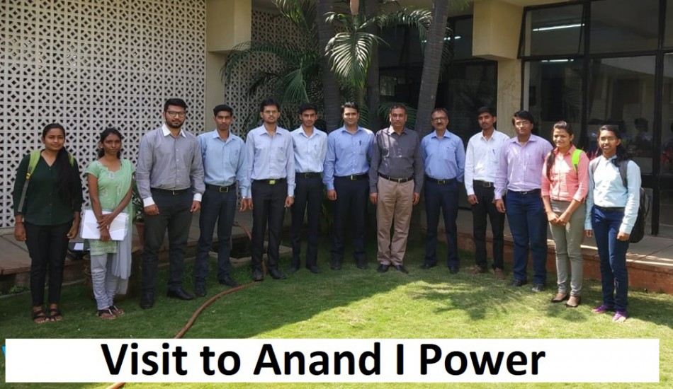 Visit to Anand I Power-Campus Interview