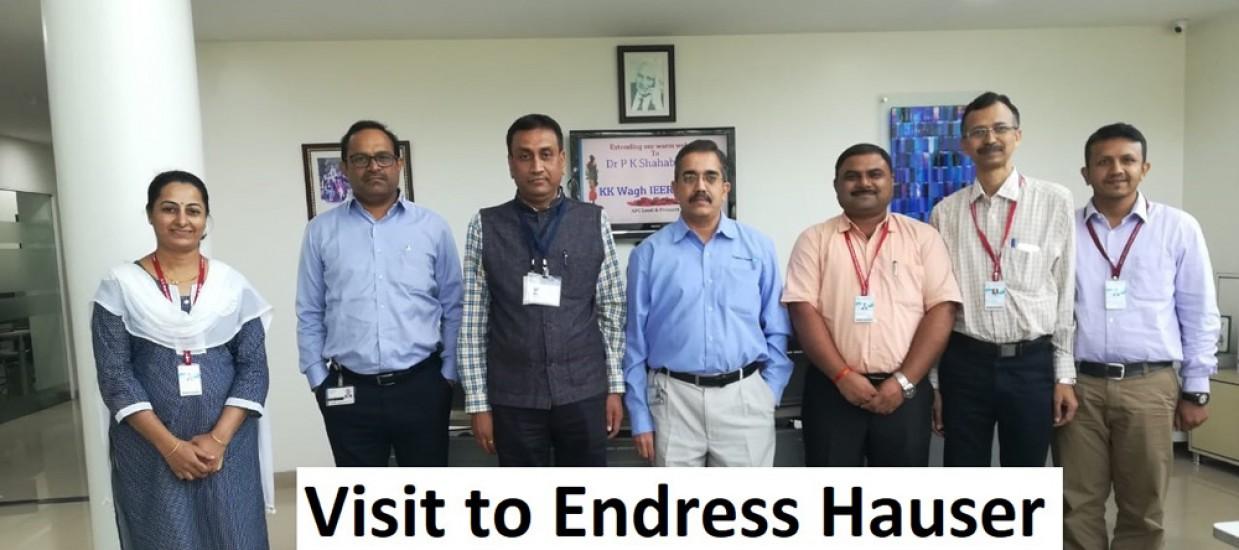 Visit to Endress Hauser