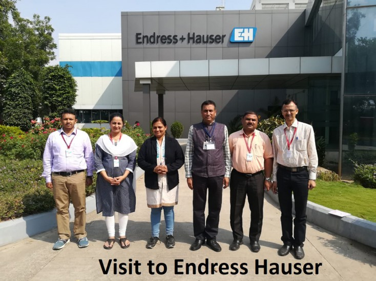 Visit to Endress Hauser 1