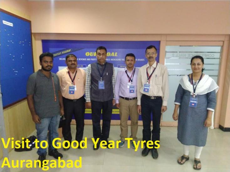 Visit to Godd Year Tyre-Aurangabad